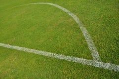 Priorità bassa del campo di calcio Immagini Stock Libere da Diritti