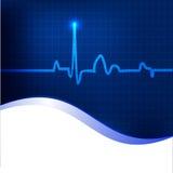 Priorità bassa del Cardiogram. royalty illustrazione gratis