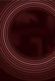 Priorità bassa del cerchio di miscela con la maglia di gradiente Immagine Stock