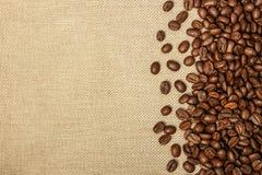Priorità bassa del chicco di caffè Fotografia Stock Libera da Diritti