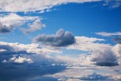 Priorità bassa del cielo Fotografie Stock