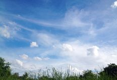 Priorità bassa del cielo Fotografie Stock Libere da Diritti