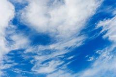 Priorità bassa del cielo blu Immagine Stock Libera da Diritti