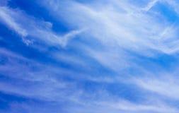Priorità bassa del cielo blu Fotografia Stock Libera da Diritti
