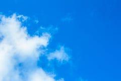 Priorità bassa del cielo con le nubi Fotografia Stock Libera da Diritti