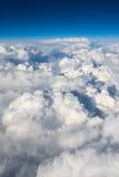 Priorità bassa del cielo nuvoloso Fotografia Stock