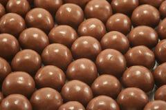 Priorità bassa del cioccolato Fotografia Stock
