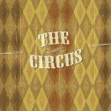 Priorità bassa del circo Fotografie Stock