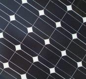 Priorità bassa del comitato solare Immagini Stock