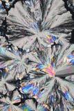 Priorità bassa del cristallo dell'acido citrico immagine stock