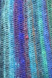 Priorità bassa del Crochet Fotografia Stock Libera da Diritti
