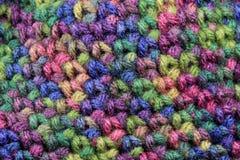 Priorità bassa del Crochet immagine stock