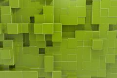 Priorità bassa del cubo del calcolatore di Structur Immagini Stock