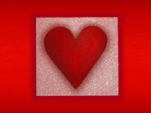 Priorità bassa del cuore Immagini Stock