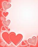 Priorità bassa del cuore immagine stock