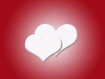 Priorità bassa del cuore Fotografie Stock