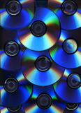 Priorità bassa del disco ottico Fotografia Stock Libera da Diritti