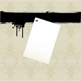 Priorità bassa del documento di nota illustrazione vettoriale