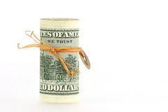 Priorità bassa del dollaro Fotografia Stock