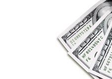 Priorità bassa del dollaro Fotografie Stock