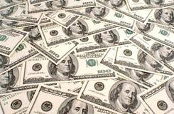 Priorità bassa del dollaro americano Fotografia Stock