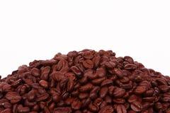 Priorità bassa del fagiolo di Coffe Fotografia Stock
