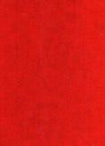Priorità bassa del feltro di colore rosso Immagine Stock