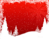 Priorità bassa del fiocco di neve di Grunge Immagine Stock Libera da Diritti