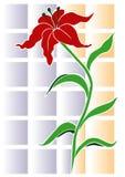Priorità bassa del fiore Immagini Stock