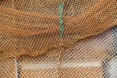 Priorità bassa del Fishnet Fotografia Stock