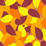 Priorità bassa del foglio di autunno illustrazione vettoriale