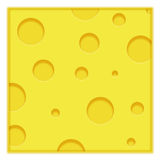 Priorità bassa del formaggio Fotografia Stock Libera da Diritti