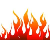 Priorità bassa del fuoco Immagine Stock