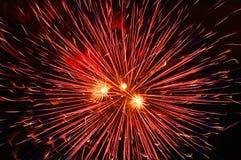 Priorità bassa del fuoco d'artificio Fotografie Stock Libere da Diritti