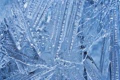 Priorità bassa del ghiaccio Fotografia Stock Libera da Diritti