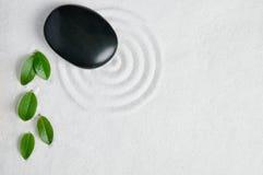 Priorità bassa del giardino di zen immagini stock