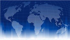Priorità bassa del globo Immagini Stock