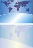 Priorità bassa del globo illustrazione di stock