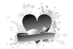 Priorità bassa del grunge di giorno dei biglietti di S. Valentino illustrazione vettoriale