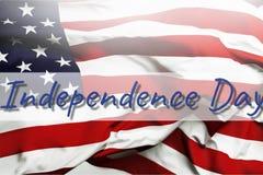 Priorità bassa del grunge di indipendenza Day Fotografia Stock Libera da Diritti