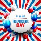 Priorità bassa del grunge di indipendenza Day Immagine Stock Libera da Diritti