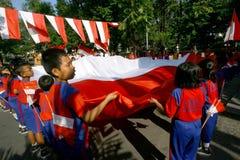 Priorità bassa del grunge di indipendenza Day Fotografie Stock
