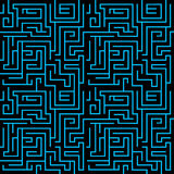Priorità bassa del labirinto Fotografia Stock Libera da Diritti