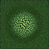 Priorità bassa del labirinto del labirinto Fotografie Stock