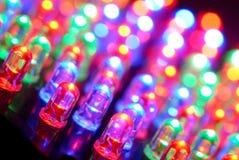 Priorità bassa del LED Immagine Stock
