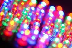 Priorità bassa del LED Fotografie Stock Libere da Diritti