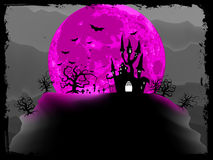 Priorità bassa del manifesto di Halloween. ENV 8 royalty illustrazione gratis