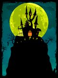 Priorità bassa del manifesto di Halloween. ENV 8 illustrazione vettoriale