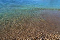 Priorità bassa del mare Immagini Stock