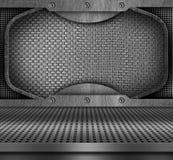 Priorità bassa del metallo Fotografie Stock